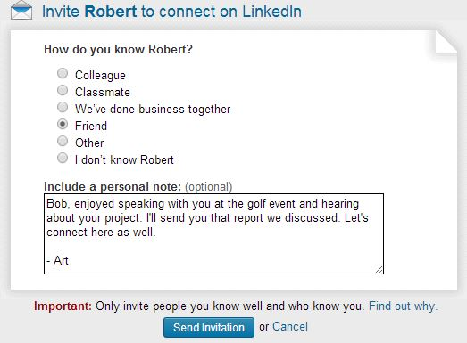 Who should you invite to connect on linkedin smart calling blog guest stopboris Images